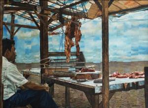"""Dede Eri Supria, """"Tukang Daging"""" 1981"""
