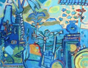 037 Husner, Paul Balinese Landscape 1998 - 1999