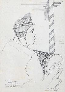 101 Çaka Datuk Penabuh Gendang Puri Saren - Ubud 1978