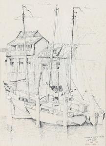 104 Çaka Datuk Spakenburg Haven - Hollan 1979