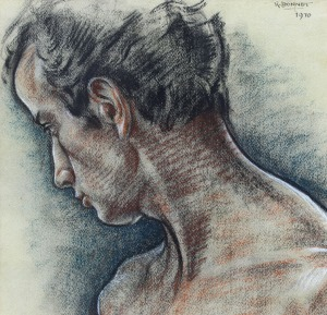 120 Bonnet, Johan Rudolf Male Figure 1970